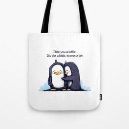 Lottle Penguins Tote Bag