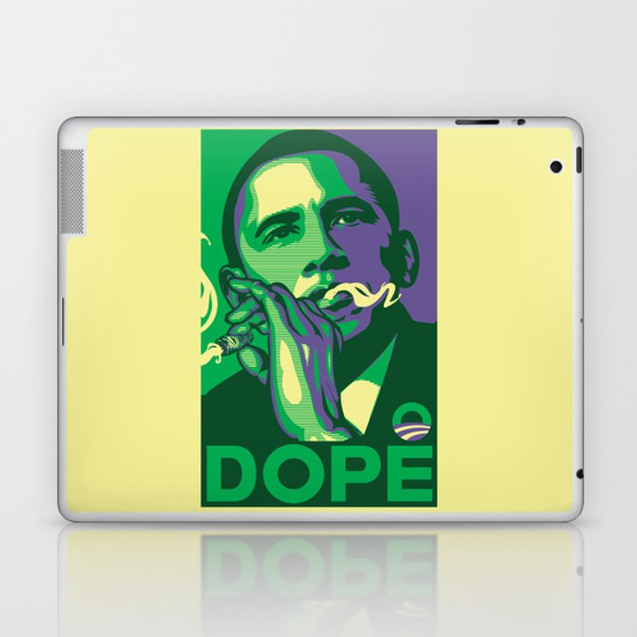 the dopest president Laptop & iPad Skin