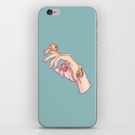 Hand Study No.1 // The Snails One iPhone Skin