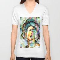 mythology V-neck T-shirts featuring Mythology by Joe Ganech