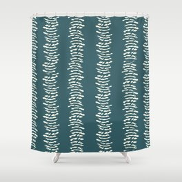 Feathered Stripes. Shower Curtain