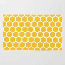 Honey-coloured Honeycombs Rug