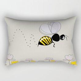 Bee Cute! Rectangular Pillow