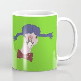 Spunky Turkey Purple Hair GB Coffee Mug