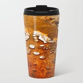 Orange Texture Travel Mug