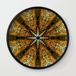 Animal Print Abstract 2 Wall Clock