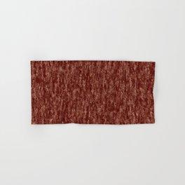 Dark Crinkled Copper Rose Foil Hand & Bath Towel