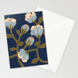 Blue Perennial Stationery Cards
