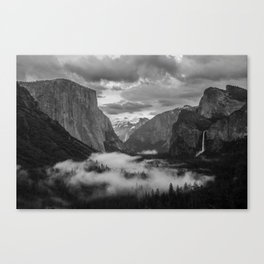 Yosemite National Park - Tunnel View Canvas Print