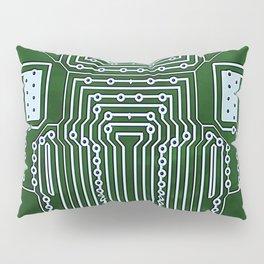 Computer Geek Circuit Board Pattern Pillow Sham