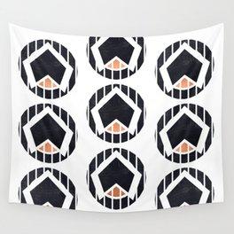 Minimalist Geometric Art 9 Wall Tapestry