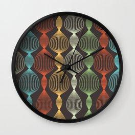 Geo Bulbs Wall Clock