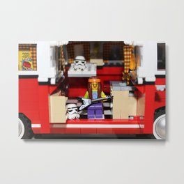 The Hippie Legovan Metal Print