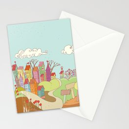 Urban Love Stationery Cards