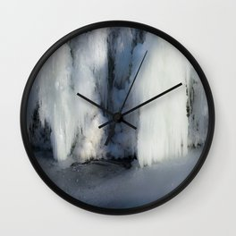 Icicles Wall Clock
