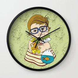 Tattooed Baby 003 Wall Clock