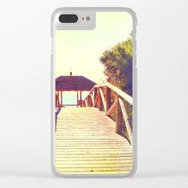 rota spain beach 13 Clear iPhone Case