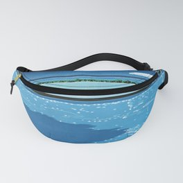 Poolside painting Fanny Pack