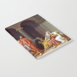 Oath of the Horatii by Jacques-Louis David Notebook