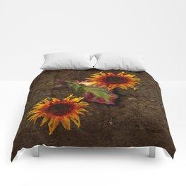 Sunflowers Vintage # Comforters