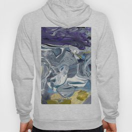 Avalanche - Purple Grey Gold Hoody