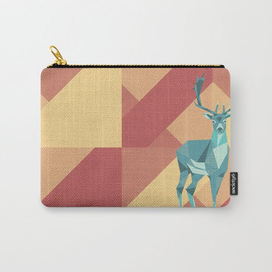 Origami Deer Carry-All Pouch