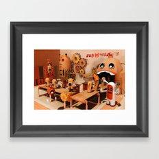 Toy Works Framed Art Print