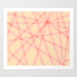 Lines, many lines Art Print