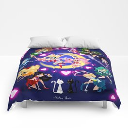 The Sailor Scouts Comforters
