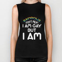 rainbows - Gay Pride T-Shirt Biker Tank
