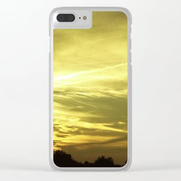 The Light Of Love Gives Hope For The Future Clear iPhone Case