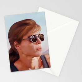 Sarah Connor Stationery Cards