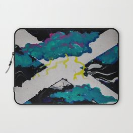 Oil Spilt Skies Laptop Sleeve
