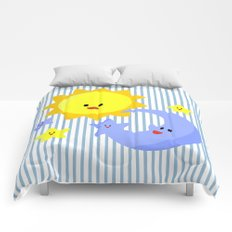 good morning, good night Comforters
