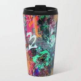 Graffiti and Paint Splatter Travel Mug