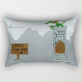Free Princess Rectangular Pillow
