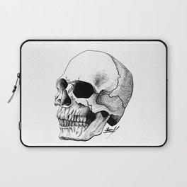 Dire Skull - A Macabre Warning Laptop Sleeve