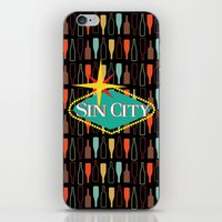 sin city iPhone & iPod Skins featuring Sin City by Chelsea Dianne Lott