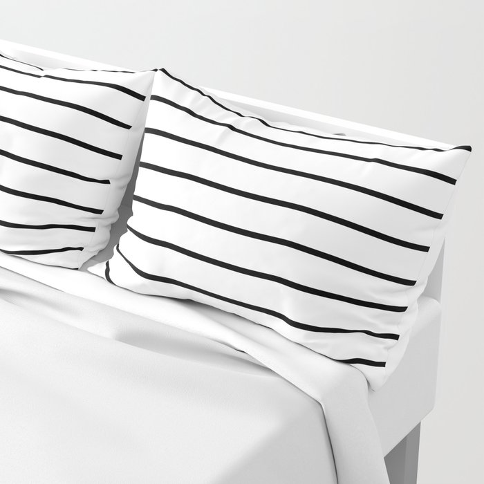 Minimalist Stripes Pillow Sham