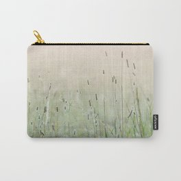 Idyllic Grass Field in the Morning Sun Carry-All Pouch