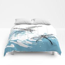 Dragonflies print Comforters