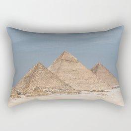 Giza Pyramid Complex Rectangular Pillow