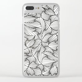 Tangles Clear iPhone Case