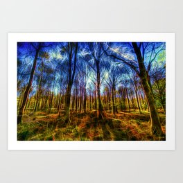 Forest Mystical Art Art Print