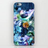 aquarius iPhone & iPod Skins featuring Aquarius by Joke Vermeer