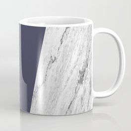 Marble Eclipse blue Geometry Coffee Mug