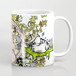 Lost world in enchanted forest Coffee Mug