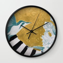 Gift wrap intervention 04 Wall Clock