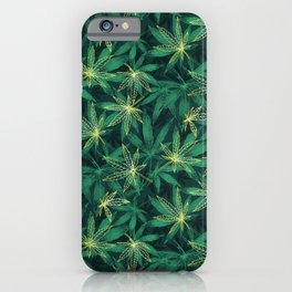 Leaf Your Worries Behind  iPhone Case