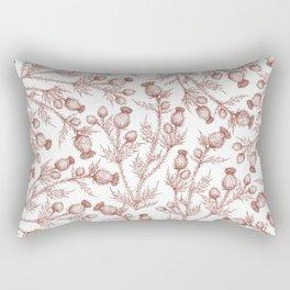 Thistle in Autumn Rectangular Pillow